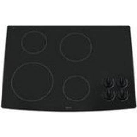 whirlpool w5ce3024xb 30 black electric smoothtop cooktop whirlpool rcc3024rb 30 quot smoothtop ceramic glass