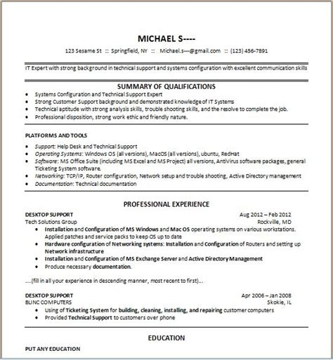 Things To Put On Resume by Things To Put In A Resume Resume Ideas