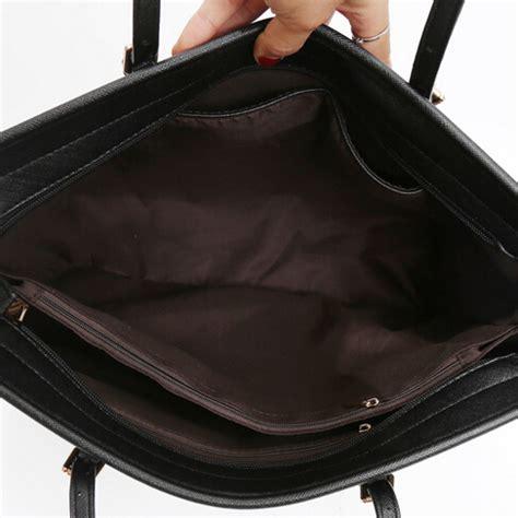 Tas Black Shoulder Bag Kulit Selempang Fashion Wanita Cantik Import tas selempang kulit shoulder bag retro wanita black jakartanotebook