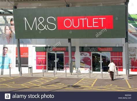 marks and spencers house insurance west thurrock essex retail park marks and spencer outlet store stock photo royalty