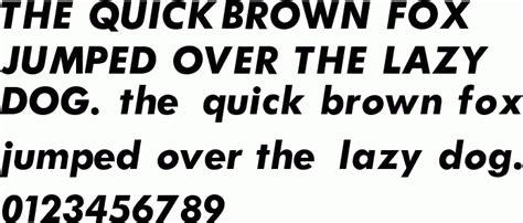 futura bold italic  font
