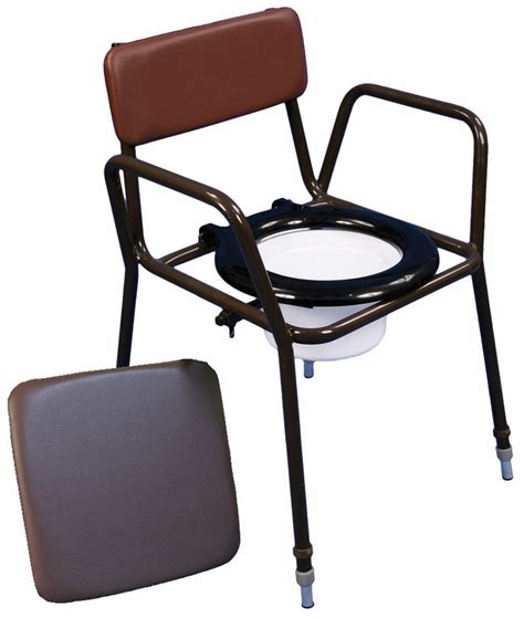 Toilet Chair by Commode Chairs