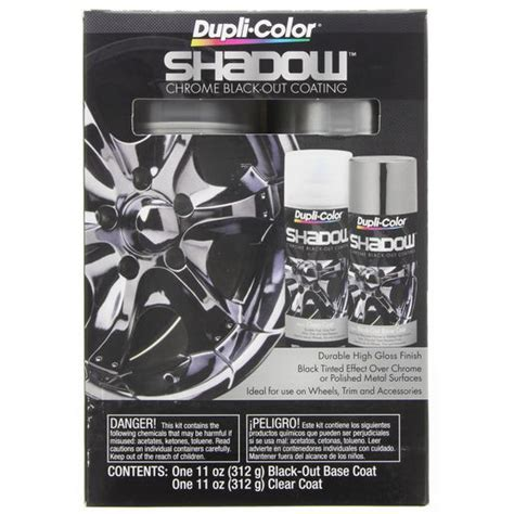 dupli color shadow dupli color shadow chrome black out coating 311g dupli