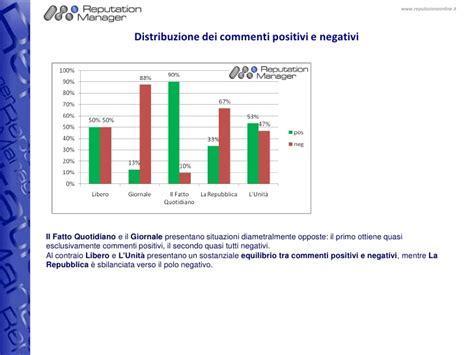 testate giornalistiche italiane la reputazione delle testate giornalistiche italiane