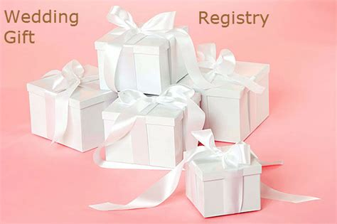 Wedding Presents by How To Use A Wedding Gift Registry Iwedplanner