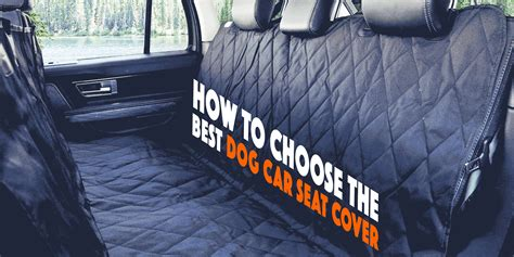 best back seat cover for dogs best seat cover kmishn