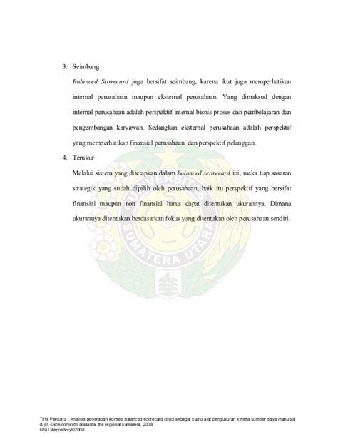 tesis kinerja adalah tesis manajemen sdm balanced scorecard kinerja sdm