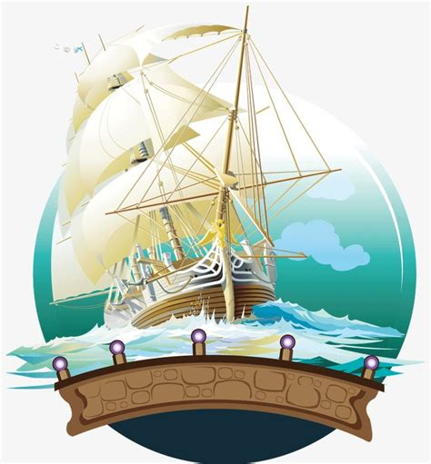 sailboat waves icon sailboat wind and waves ferry png and vector for free