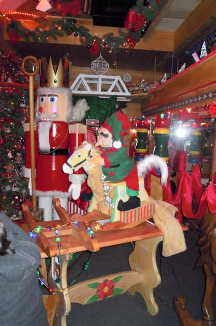 Midland Santa House by Doll In The Looking Glass Santa S House In Midland Michigan