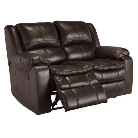 ashley long knight reclining sofa ashley long knight faux leather power reclining loveseat