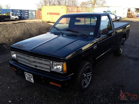 first chevy 1986 american chevrolet first gen s10 pickup truck chevy