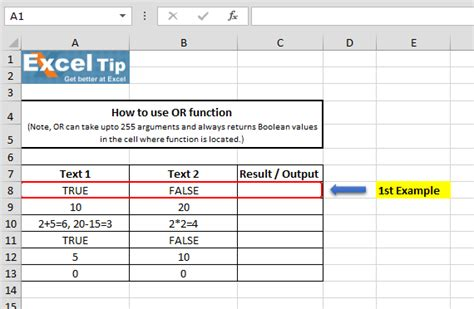 tutorial excel logical functions how to use or function in microsoft excel microsoft