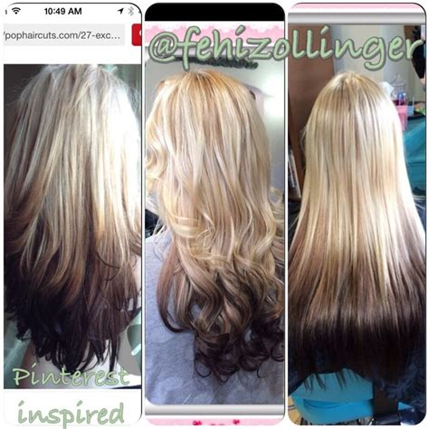 reverse ombre hair extensions 17 best images about hair on pinterest reverse ombre