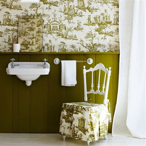 Bathroom Wallpaper Decorating Ideas Bathroom Wallpapers Housetohome Co Uk