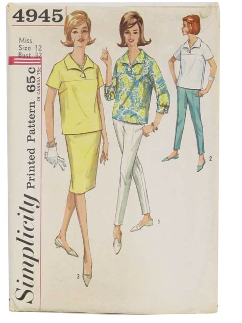 sewing patterns italian vintage 60s sewing pattern c 1960 simplicity pattern no