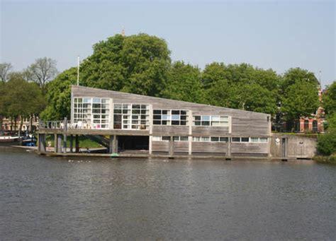 roeien hunze groningen club en botenhuis de hunze architectuurgids op