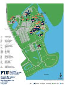 florida international map maps contacts and info biscayne bay cus map