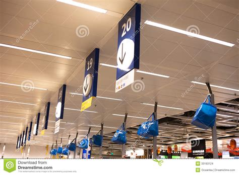 ikea stock chengdu ikea stores in the cashier editorial stock image