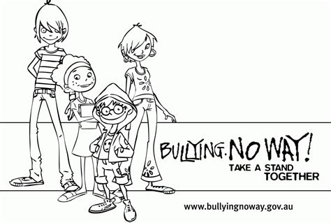 printable coloring pages about bullying bullying coloring pages printable coloring home