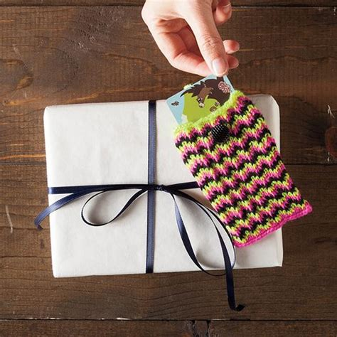 knit picks pattern holder chevron gift card holder knitting patterns and crochet