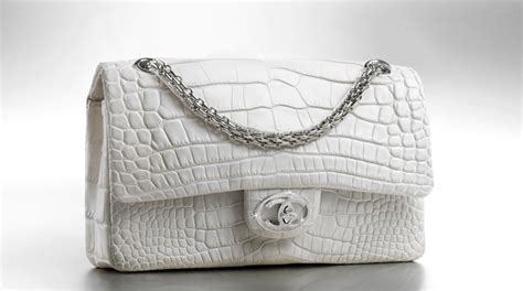 Chanels Crocodile Tote Is Ridiculously Expensive by 6 6 Million Dollars Is The Total Price Of The Most