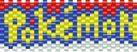 online kandi pattern maker pokemon logo bead pattern stuff i want to make