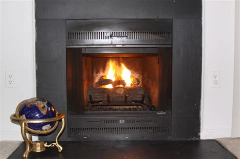gel fireplace logs can transform an fireplace