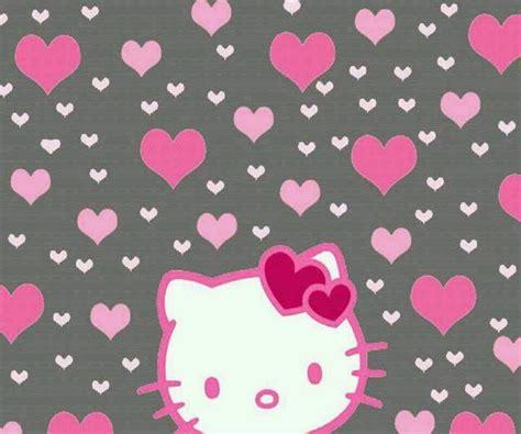 wallpaper hello kitty pink cute cute gray pink hello kitty wallpaper fun