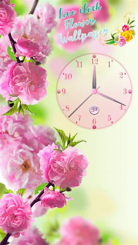 wallpaper jam bergerak android gambar blog koe animasi bergerak 3 koleksi bunga taman