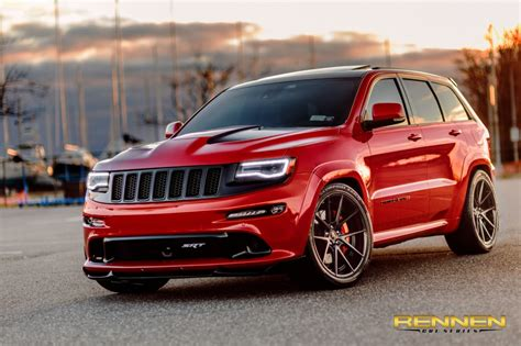 Jeep Srt8 Wheels 2015 Jeep Srt8 On Rennen Crl 55 Wheels Rennen International
