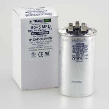 50 5 mfd capacitor run capacitor 50 5 mfd 440v