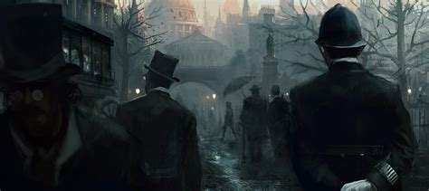 the art of assassins assassin s creed syndicate jack the ripper concept art by morgan yon concept art world