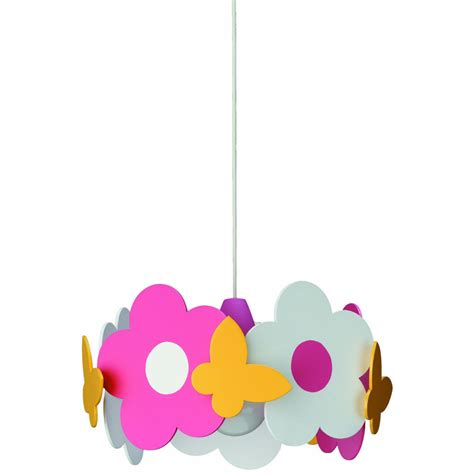 Philips 40178 55 48 Kidsplace Floral Pendant Light Multi Childrens Pendant Lighting