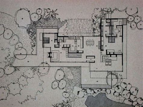 richard neutra house plans richard neutra rice modern house plan poster ld master