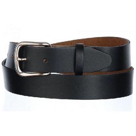 black leather belt top grain leather beltbuckle