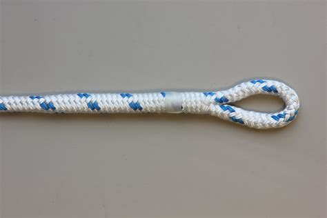 eye splice in double braid polyester rope rope