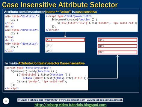 Html Input Pattern Case Insensitive | sql server net and c video tutorial jquery case