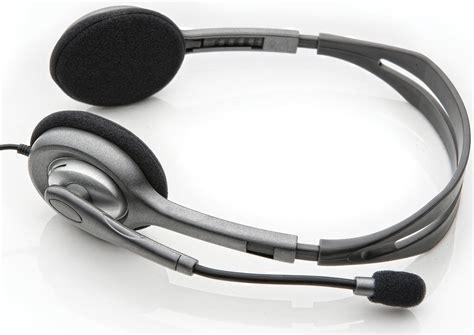 Headset Stereo Logitech H111 logitech stereo headset h111 kopfh 246 rer mit mikrofon