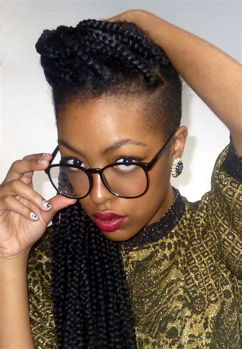 1000 images about shaved sides braids twists on african hair braiding cornrow styles mohawk with shaved