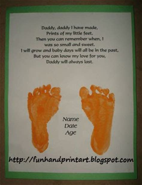 fathers day footprint s day footprint poem like success