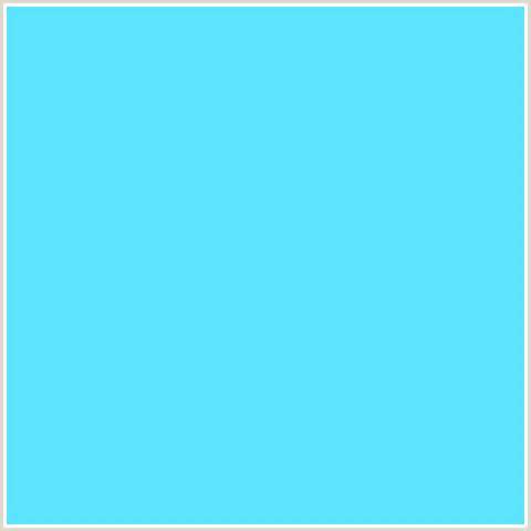 malibu blue color 5de3ff hex color rgb 93 227 255 light blue malibu
