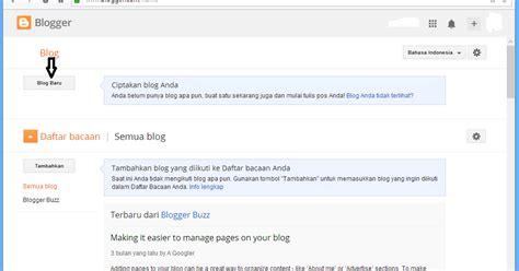 cara membuat blog e learning cara mudah membuat blog blogspot com