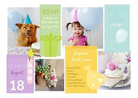 the best collage template for greeting cards birthday card maker design printable birthday cards