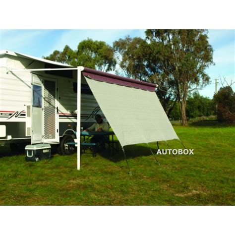 privacy screens for caravan awnings camec poptop caravan privacy screen end wall 2100 x1800