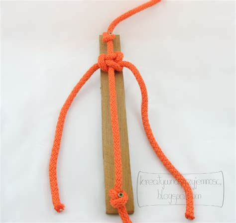 String Knotting - creative pleasure macrame the basic knot