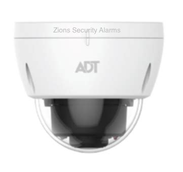 adt pulse dome camera mdc835 outdoor or indoor 720p wifi