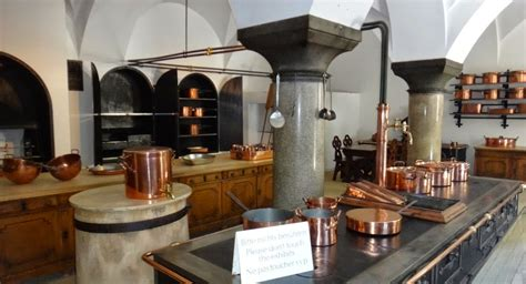Castle Kitchens by Neuschwanstein Castle Castle Neuschwanstein Kitchen