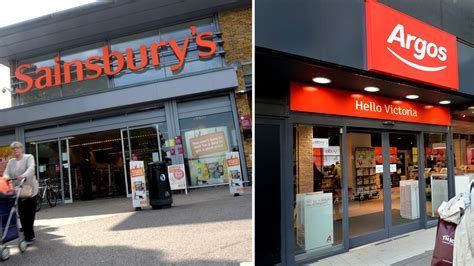 sainsbury s rebuffed in bid for 163 1bn valued argos owner