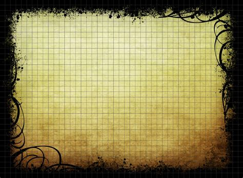 rpg d d parchment background graph paper