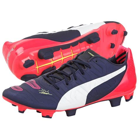 power football shoes mens evo power 22 firm ground football boots